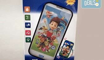 """Детски смартфон """"Том"""" или """"Калинката и черния котарак"""" с български приказки и песни от Магнифико!"""