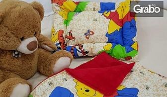 Детски спален комплект с одеялце и възглавничка