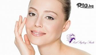 Диамантено микродермабразио + мезотерапия на лице за свежа и озарена кожа, от Sesil Styling Studio