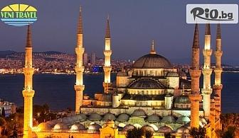 4-дневна екскурзия до Истанбул с включени 2 нощувки със закуски, автобусен транспорт и екскурзовод, от Вени Травел
