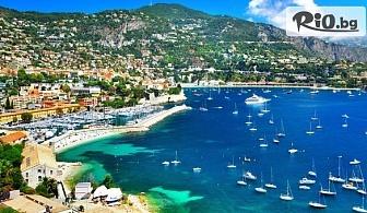 7-дневна екскурзия до Венеция, Мантон, Антиб, Ница, Кан, Монако и Флоренция! 4 нощувки със закуски + автобусен транспорт и водач, от ABV Travels
