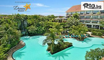 10-дневна почивка на о-в Бали! 7 нощувки със закуски в SWISS-BELHOTEL SEGARA RESORT AND SPA NUSA DUA 4* + самолетен билет, летищни такси, багаж и трансфери, от Дрийм Холидейс