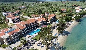 5 дни за двама със закуска и вечеря от 19.08 в Rachoni Beach Hotel