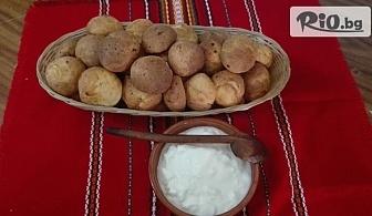 Домашни соленки със сирене и кашкавал - 1 или 2 кг, от Работилница за вкусотии Рави