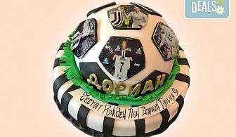 С доставка през март и април! За спорта: торти за футболни фенове, геймъри и почитатели на спорта от Сладкарница Джорджо Джани