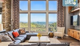 Двустранно измиване на прозорци и дограми на дом или офис до 100кв.м. от Професионално почистване Брилянтин БГ!