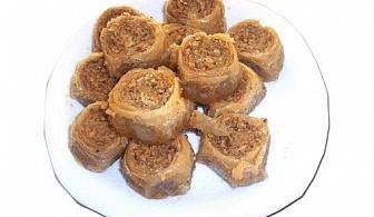 ЕДИН или ДВА килограма домашна баклава на хапки с орехи и канела от Работилница за вкусотии РАВИ