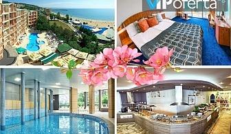 Еднодневен пакет на база All Inclusive + празнична вечеря и топъл басейн в Хотел Луна****, Златни пясъци