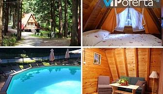 Еднодневен пакет за до петима души +ползване на басейн във вилно селище Малина, Боровец