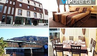 Еднодневен пакет със закуска и вечеря + ползване на закрит басейн  в Хотел Лиани***, Ловеч