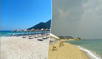 Еднодневна автобусна екскурзия с нощен преход до плажа Аммолофи, Гърция на ТОП цена от ТА Поход
