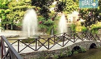 Еднодневна екскурзия до града на водопадите Едеса в Гърция! Транспорт, екскурзовод и програма от Глобус Турс!