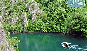 Еднодневна екскурзия до Скопие и езерото Матка! Транспорт, екскурзовод и програма от агенция Поход!