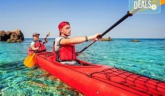 Еднодневно приключение с каяк по река Камчия за начинаещи, с включена екипировка и инструктаж, предложение от ТА Ревери!
