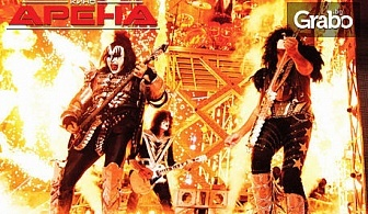 Ексклузивно в Кино Арена! Прожекция на концерта KISS Rocks Vegas - на 31 Октомври