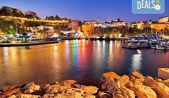 Екскурзия до Анталия - Фетие,Памуккале, Каш, Турция! 7 нощувки със закуски и вечери, двупосочен билет, летищни такси и трансфери