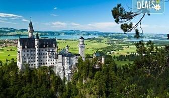 На екскурзия до Баварските замъци през май: 6 дни, 4 нощувки със закуски, транспорт и водач от Имтур! Екскурзионна програма в Залцбург и Мюнхен. Нощен преход на отиване!