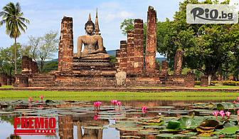 Екскурзия до екзотичен Тайланд! 9 нощувки със закуски, двупосочен самолетен билет до Банкок и екскурзовод, от Премио Травел