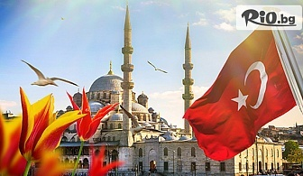 Екскурзия за Фестивала на лалето в Истанбул! 3 нощувки със закуски в хотел 2/3* + транспорт и екскурзовод, от ABV Travels