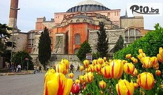 Екскурзия за Фестивала на лалето в Истанбул! 2 нощувки със закуски + транспорт и Бонус посещение на парка Емирган и Одрин, от Караджъ Турс