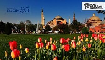 Екскурзия за Фестивала на лалето в Истанбул с посещение на Одрин! 2 нощувки със закуски + транспорт, от Шанс 95 Травел