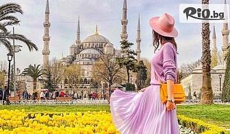 Екскурзия за Фестивала на лалето в Истанбул! 2 нощувки със закуски + транспорт, пътни и магистрални такси и водач, от Рикотур