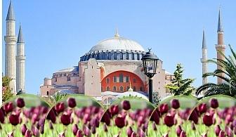 Екскурзия за фестивалa на лалето в Истанбул! Транспорт + 4 нощувки на човек със закуски от АБВ Травелс