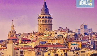 Екскурзия до Истанбул, с Дениз Травел! 2 нощувки със закуски, хотел 3*, транспорт и пожелание - посещение на църквата с ключетата на щастието!