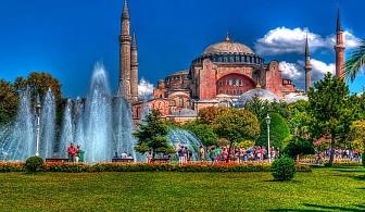 Екскурзия до Истанбул, Одрин и Чорлу с 2 нощувки и закуски + посещение на Пеещите фонтани, най-новия МОЛ Емаар с възможност за посещение на подводна зоологическа градина и много бонуси от Караджъ Турс