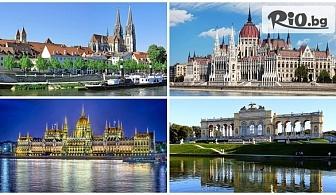 """Екскурзия с круиз """"Нова Година по вълните на Дунав"""" с кораба m/s Joy 6****** по маршрут: Регенсбург, Линц, Виена, Братислава, Будапеща, от ТА Травел Холидейс"""