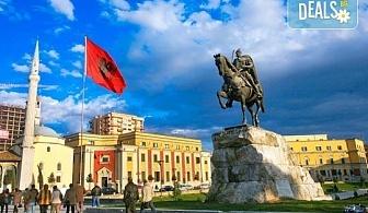 Екскурзия с нощен преход до Дуръс, Албания! 3 нощувки със закуски и вечери, транспорт и пешеходен тур на Скопие!