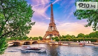 Екскурзия до Париж през Март и Април! 3 нощувки със закуски + самолетен транспорт от Варна, от ВИП Турс