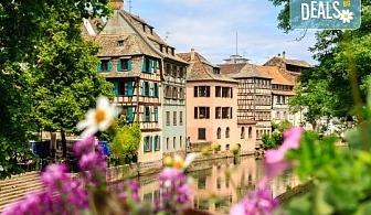 Екскурзия до Париж през Швейцария с България Травел! 7 нощувки със закуски, транспорт и Прага, Париж, Страсбург, Женева, Монтрьо, Милано
