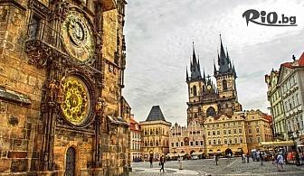 "Екскурзия до Прага! 3 нощувки със закуски + автобусен транспорт, екскурзовод и посещение на Велке Поповице и пивоварна ""Козел"", от ABV Travels"