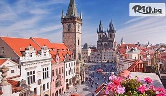 """Екскурзия до Прага! 3 нощувки със закуски в хотел 3* + автобусен транспорт, екскурзовод и посещение на Велке Поповице и пивоварна """"Козел"""", от ABV Travels"""