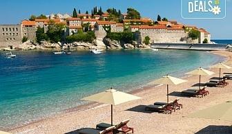 Екскурзия през август до Будва, с възможност да посетите Дубровник! 3 нощувки със закуски и вечери, транспорт и посещение на о. Св. Стефан