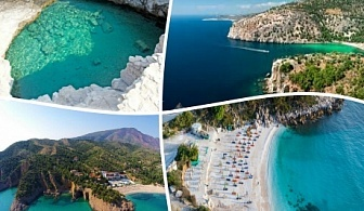 Екскурзия до слънчевия остров Тасос, Гърция. Транспорт, 3 нощувки на човек със закуски и вечери от ТА България травъл