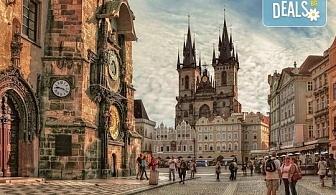 """Екскурзия до """"Златна"""" Прага на дата по избор със Запрянов Травел! 2 нощувки със закуски в хотел 2/3*, транспорт и програма"""