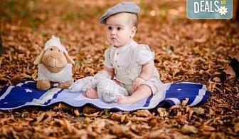 Есенна семейна, детска или индивидуална фотосесия на открито с 20 обработени кадъра от Фото студио Амели!