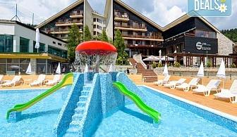 Есенна ваканция в хотел Селект 4*, Велинград! Нощувка със закуска и вечеря, ползване на закрит минерален басейн, минерално джакузи, леден фонтан и релакс зона, безплатно за дете до 5.99 г.