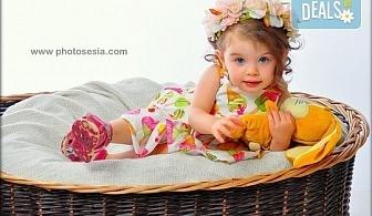 Есенни декори! Семейна, детска или фотосесия за влюбени + подарък фотокнига от Photosesia.com