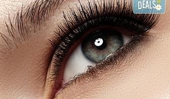 """Фатален поглед! Удължаване и сгъстяване на мигли """"косъм по косъм"""" в Marbella Beauty Studio!"""