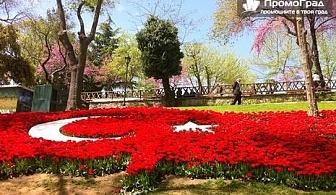Фестивал на лалето в Истанбул + Одрин и Чорлу (2 нощувки в хотел 3* със закуски) за 118.50 лв.