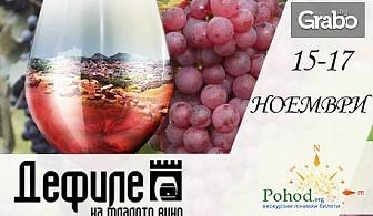 """За Фестивала """"Дефиле на младото вино""""в Пловдив! Еднодневна екскурзия на 16 Ноември"""