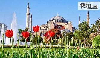 Фестивала на лалето в Истанбул! 2 нощувки със закуски в хотел 3* + автобусен транспорт и посещение на Одрин, от ТА Поход