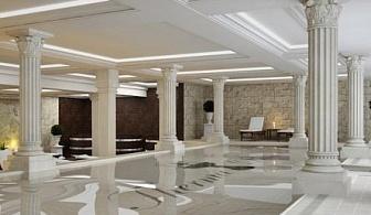Февруари и март в любим хотел на морето - ТЕРМА ПАЛАС *****, КРАНЕВО! All Inclusive почивка на специални цени + ползване на топъл вътрешен басейн и спа център + първо дете до 10г. безплатно!