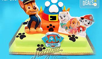 """Фигурална 3Д торта за незабравимия празник на Вашето дете от Виенски салон """"Лагуна""""! Подарък - поздравителен надпис + свещичка и възможност за доставка до Вашия дом!"""