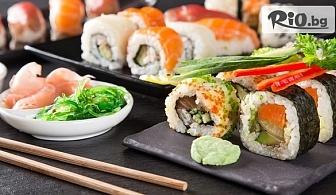 Филaделфия сет с 30 хапки /560 г/ или Суши сет микс с 56 хапки /1200 г/ за дома и офиса, от Sushi House