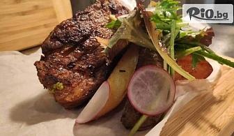 Филе от Амур и картофки с розмарин или Котлет от Сом с ароматни задушени зеленчуци, от Ресторант Севастопол