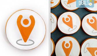 За фирми! Бисквити със снимка, лого или друг дизайн за корпоративни празници от Muffin House!